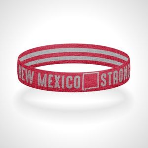 Reversible New Mexico Strong Wristband Bracelet